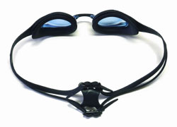 Black and White Swim Goggles