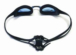 Black and White Swim Goggles