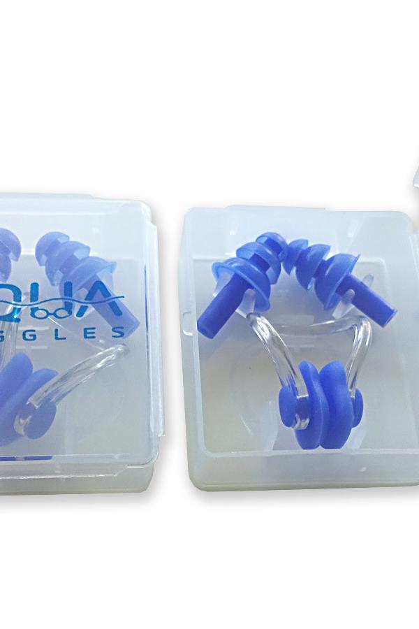 Aquagoggles Ear Plugs & Nose Clip